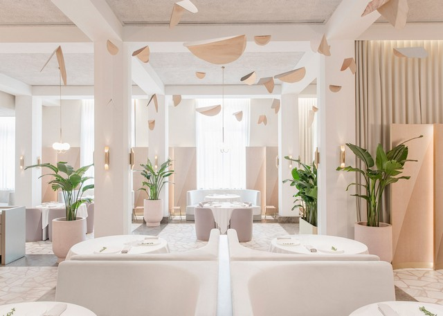 Get inspired by Universal Design Studio project - Odette Restaurant restaurant interior Get Inspired By Odette Restaurant Interior odette by universal design studio dezeen 1568 4