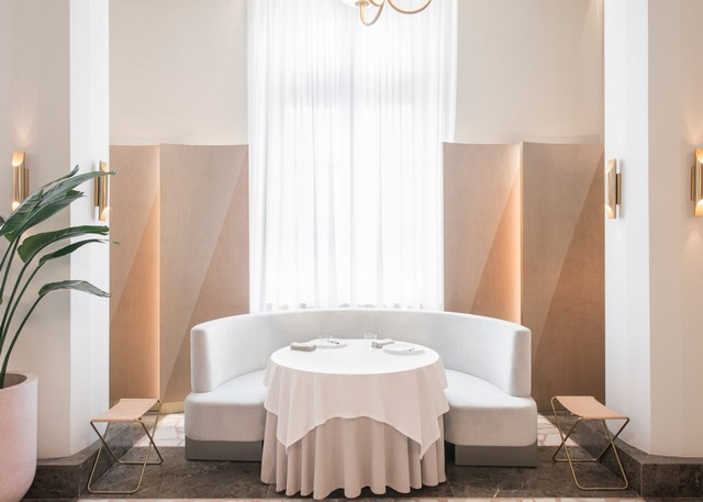 Get inspired by Universal Design Studio project - Odette Restaurant restaurant interior Get Inspired By Odette Restaurant Interior odette by universal design studio dezeen 1568 6