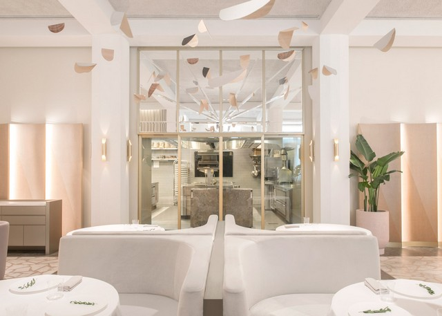 Get inspired by Universal Design Studio project - Odette Restaurant restaurant interior Get Inspired By Odette Restaurant Interior odette by universal design studio dezeen 1568 7