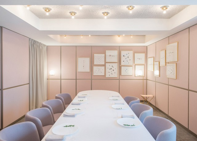 Get inspired by Universal Design Studio project - Odette Restaurant Interior restaurant interior Get Inspired By Odette Restaurant Interior odette by universal design studio dezeen 1568 8