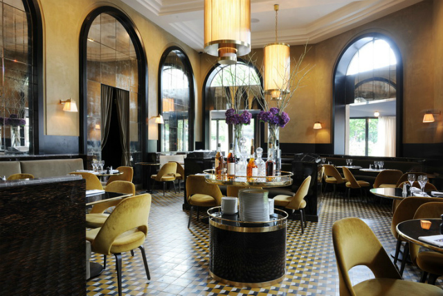 Restaurant Design Ideas - Le Flandrin in Paris restaurant interior Restaurant Interior Ideas: Le Flandrin, Paris restaurant interior Le Flandrin Paris 2