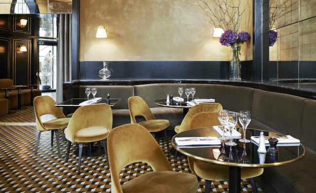 Restaurant Design Ideas - Le Flandrin in Paris restaurant interior Restaurant Interior Ideas: Le Flandrin, Paris restaurant interior Le Flandrin Paris 3