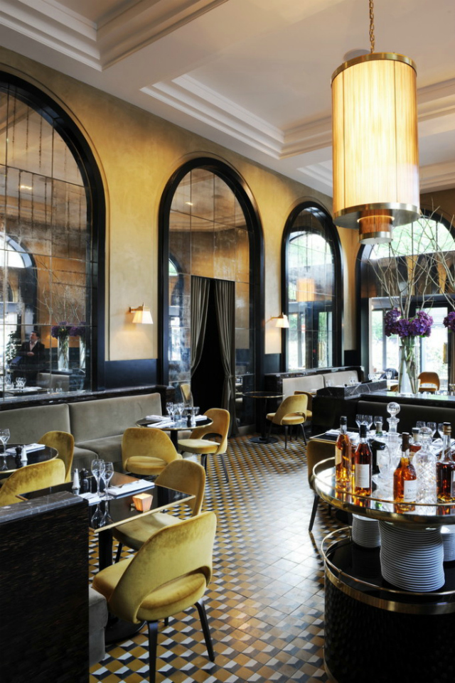 Louisiana Restaurant Decor : Restaurant interior ideas le flandrin paris