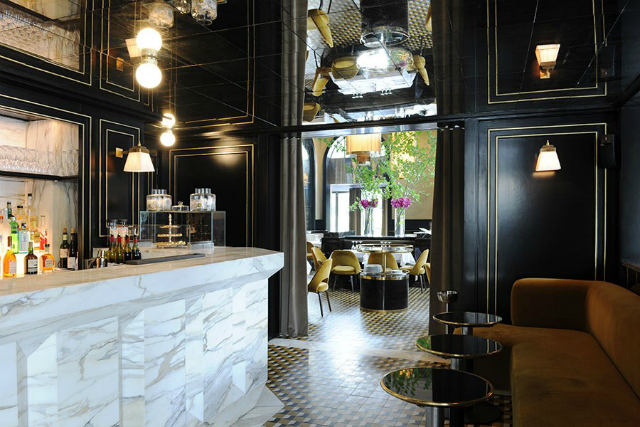 Restaurant Interior Ideas - Le Flandrin in Paris restaurant interior Restaurant Interior Ideas: Le Flandrin, Paris restaurant interior Le Flandrin Paris 7