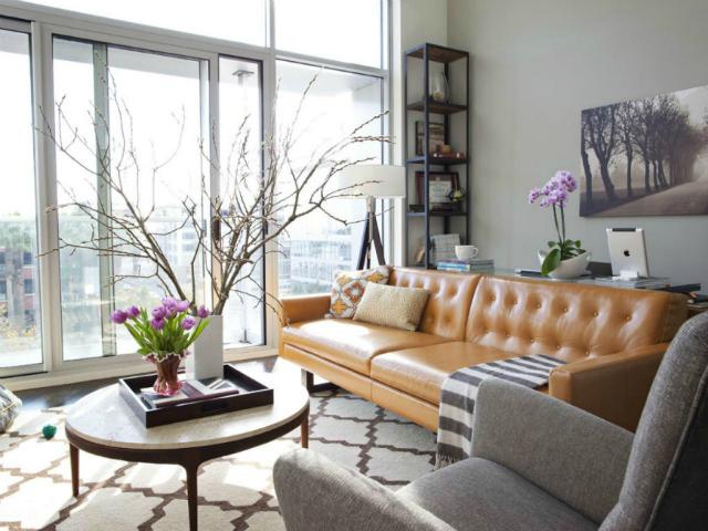 Tan Leather Sofa Living Room Ideas Goodca Sofa
