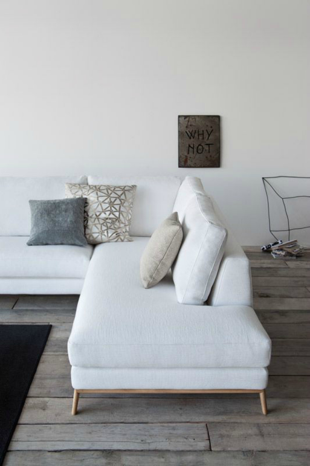 Beautiful Living Rooms with White Sofa