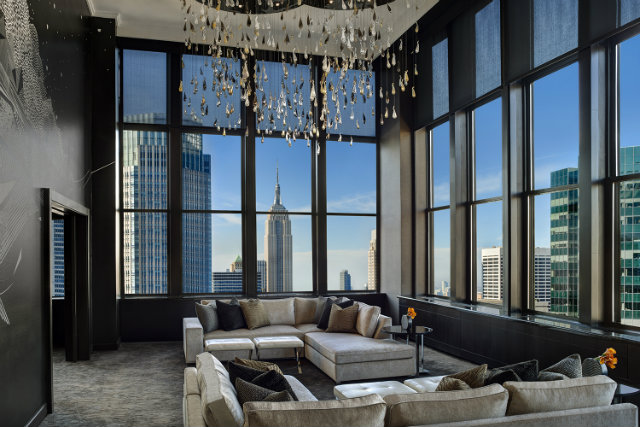 Top 5 Stunning and Expensive Hotel Suites in NYC- Champagne Suite at The Towers, Lotte New York Palace. hotel suites in nyc Top 5 Stunning and Expensive Hotel Suites in NYC 2