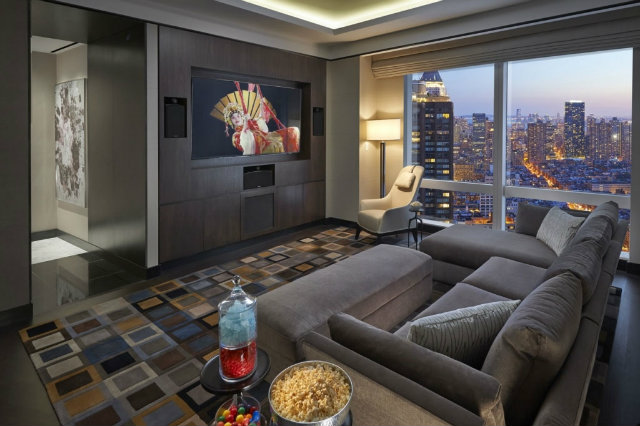 Top 5 Stunning and Expensive Hotel Suites in New York-Suite 5000 at Mandarin Oriental hotel suites in nyc Top 5 Stunning and Expensive Hotel Suites in NYC 2