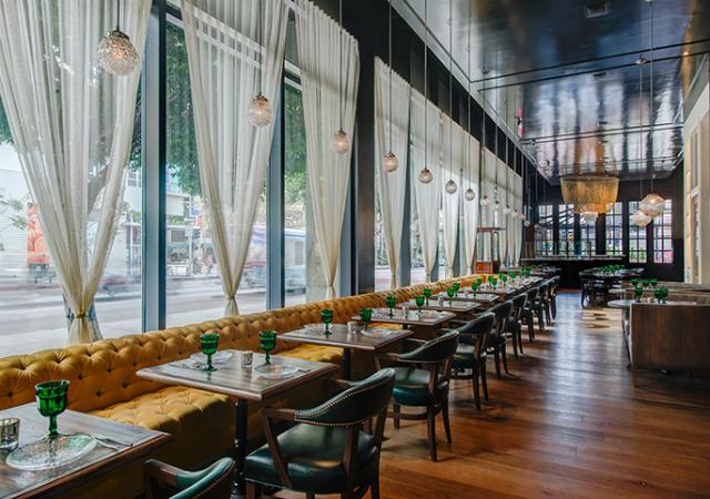 Restaurant interior ideas faith flower