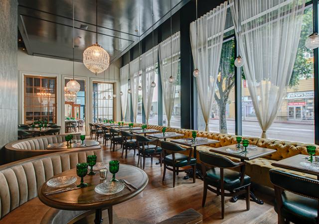 Restaurant interior design firms los angeles decorating