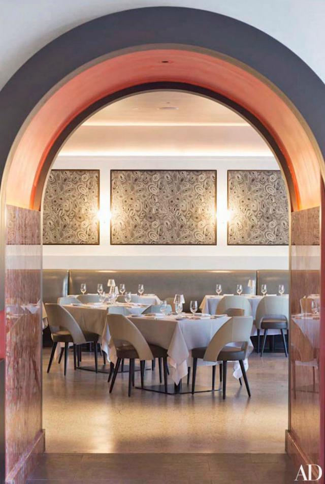 Restaurant interior ideas la sirena new york