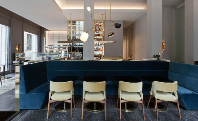 Restaurant interior ideas t a milan