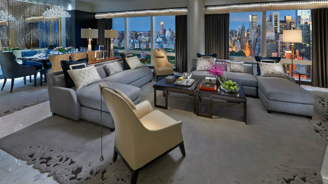 Top 5 Stunning and Expensive Hotel Suites in New York- Suite 5000 at Mandarin Oriental hotel suites in nyc Top 5 Stunning and Expensive Hotel Suites in NYC Top 5 Stunning and Expensive Hotel Suites in NYC Suite 5000 at Mandarin Oriental