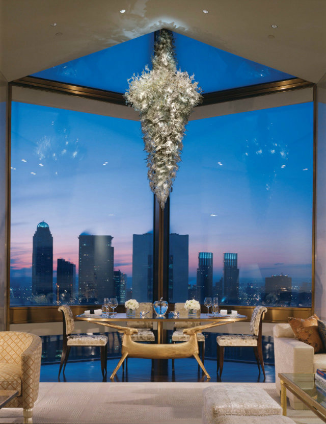 Top 5 Stunning and Expensive Hotel Suites in New York- The Ty Warner Suite at Four Seasons hotel suites in nyc Top 5 Stunning and Expensive Hotel Suites in NYC Top 5 Stunning and Expensive Hotel Suites in NYC The Ty Warner Suite at Four Seasons