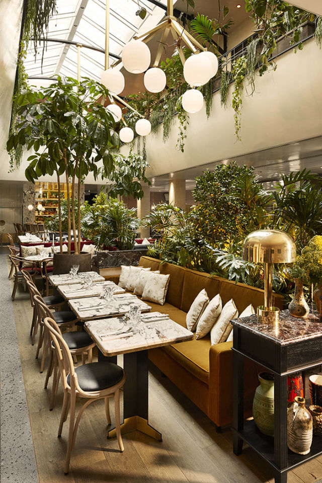 restaurant interiors 6 New Restaurant Interiors In Paris You Will Want To Visit 6 New Restaurant Interiors In Paris You Will Want To Visit lalcazar b