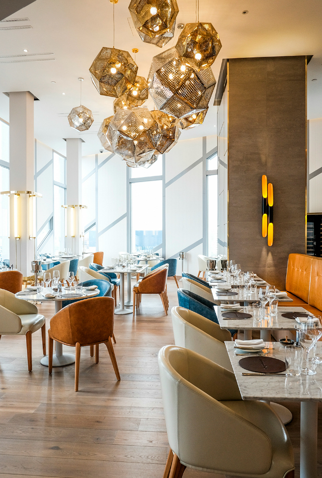 Restaurant Interior Ideas: Urban Coterie