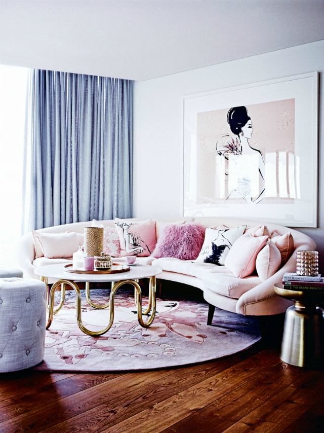 The Prettiest Living Room Ideas With A Pink Sofa pink sofa The Prettiest Living Room Ideas With A Pink Sofa The Prettiest Living Room Ideas With A Pink Sofa 18