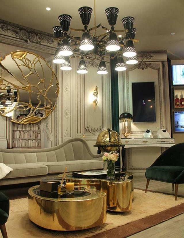 Modern Classic Living Room Interior Design: 35 STUNNING IDEAS FOR MODERN CLASSIC LIVING ROOM INTERIOR