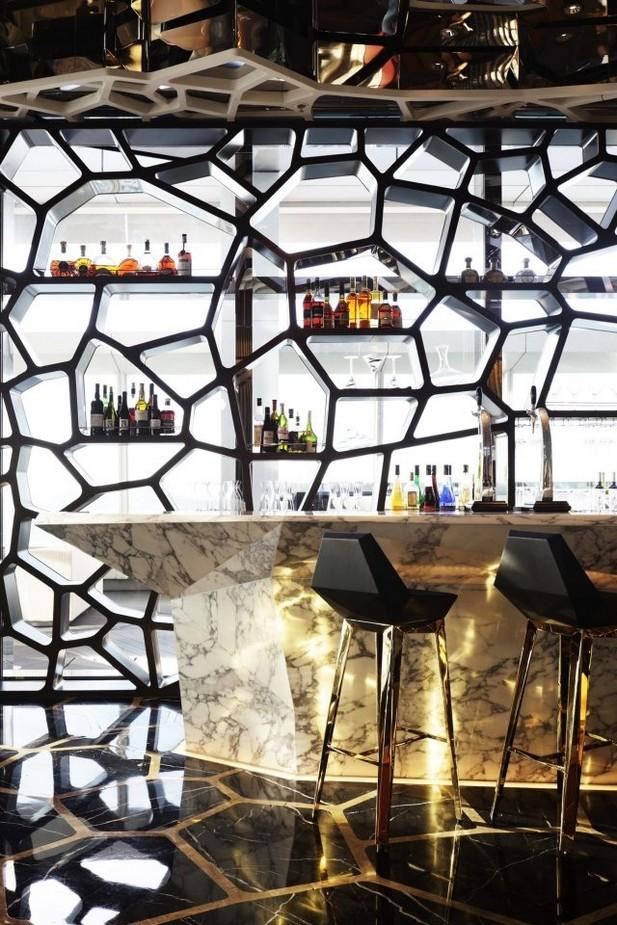 Restaurant Interior Ideas: Ozone