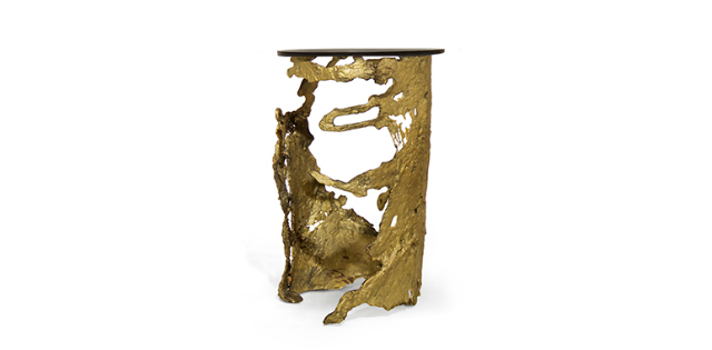 Luxury Handmade products by awarded Patrick Treutlein  Luxury Handmade products by awarded Patrick Treutlein patrick treutlein cay midcentury modern art side table 1