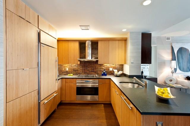 Kitchen & Dining room luxury ideas by Lo Chen Design luxury apartment interior Best NYC luxury apartment interior – Visionaire by IMG Best NYC luxury apartment interior Visionaire by Lo Chen Kitchen Ideas