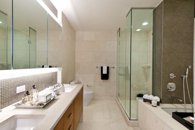 Master Bathroom luxury ideas by Lo Chen Design luxury apartment interior Best NYC luxury apartment interior – Visionaire by IMG Best NYC luxury apartment interior Visionaire by Lo Chen Master Bathroom Ideas 1