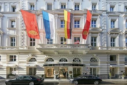 Get Inspired By Mandarin Oriental Hotel Interior in Munich