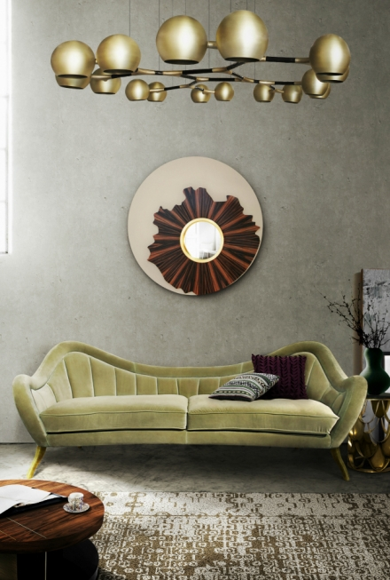 10 Astonishing Living Room Mirrors That Will Spruce Up Your Home Decor