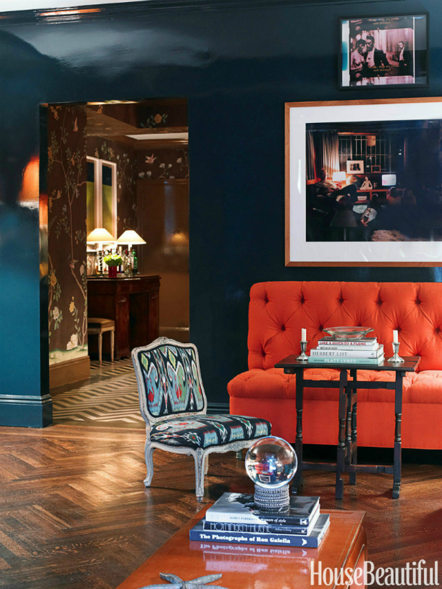 Blue And Orange Living Room Ideas: 18 Orange Sofas That Will Spruce Up Your Living Room Set