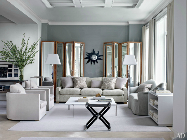 How to create a dazzling neutral living room set for Edgy living room ideas