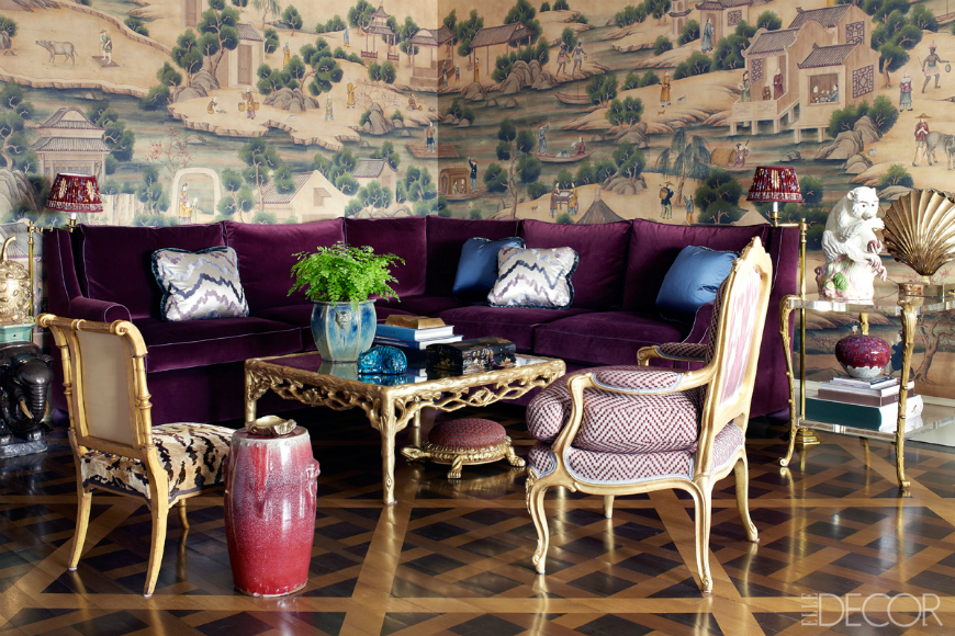 Fabulous Wallpapers That Will Spruce Up Your Living Room Set