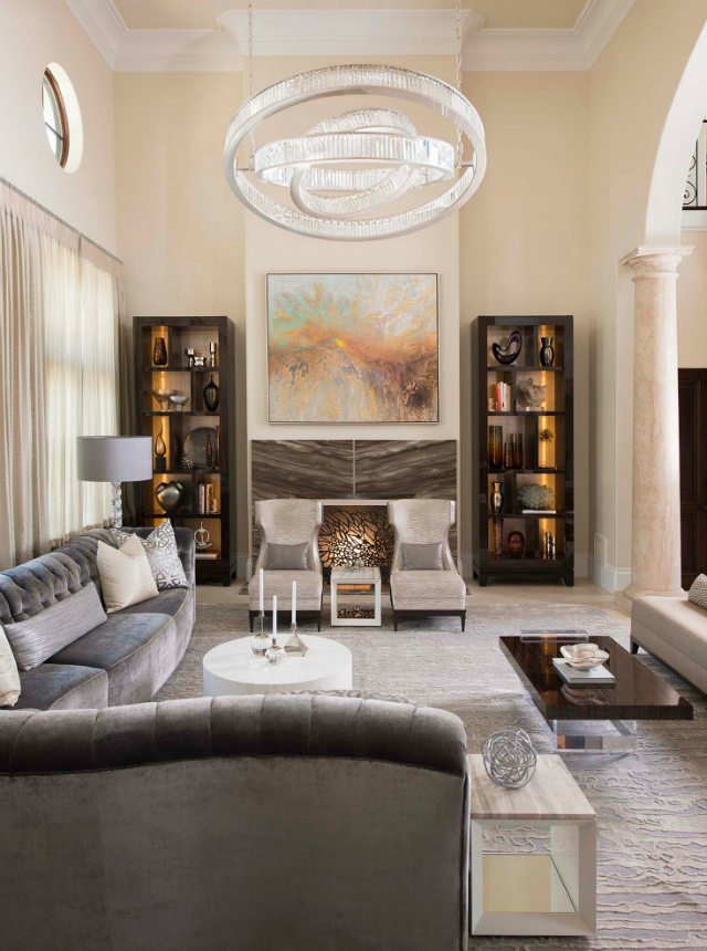 Interior Decorating Ideas For Living Room: 10 Decorating Ideas By Dallas Design Group That You Will