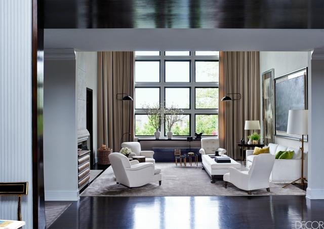 9 beautiful white chair designs for a simple yet elegant - Simple elegant living room design ...