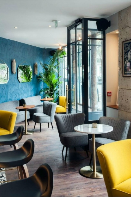 Get Inspired By The André Latin Hotel Interior in Paris