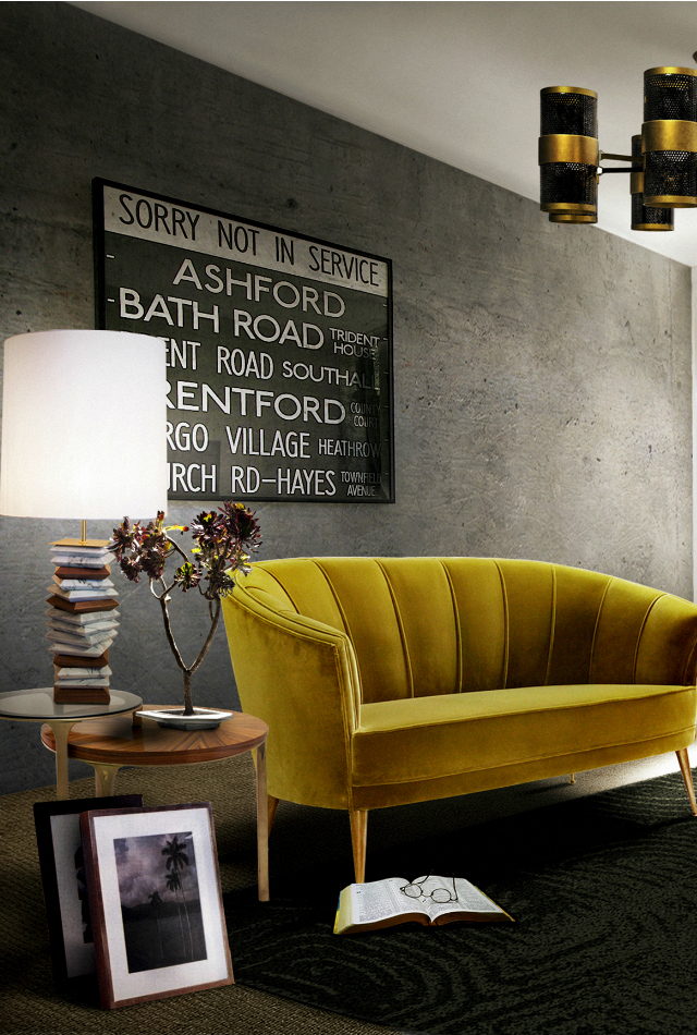 Yellow sofa in your living room set inspiration ideas brabbu