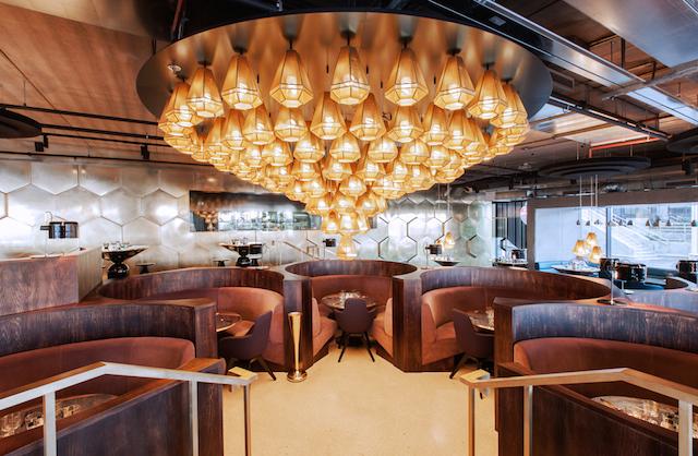 Tom Dixon  interior design THE MOST SOPHISTICATED INTERIOR DESIGN INSPIRATION BY TOM DIXON Eclectic Restaurant paris