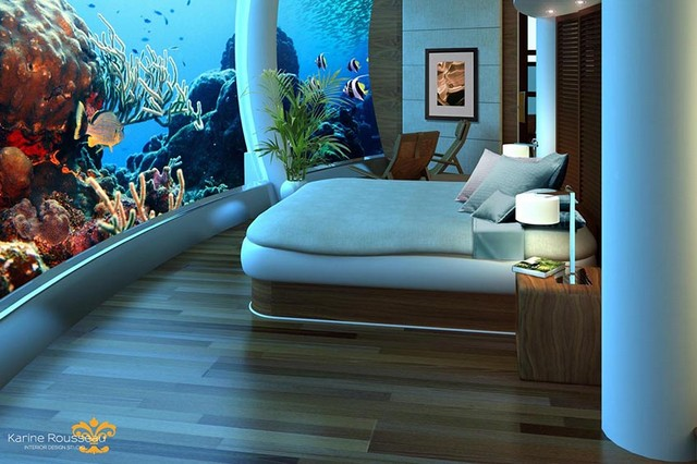 Outrageous Interiors In Outrageous Places That Will Surprise You interiors Outrageous Interiors In Outrageous Places That Will Surprise You Poseidon Undersea Resorts