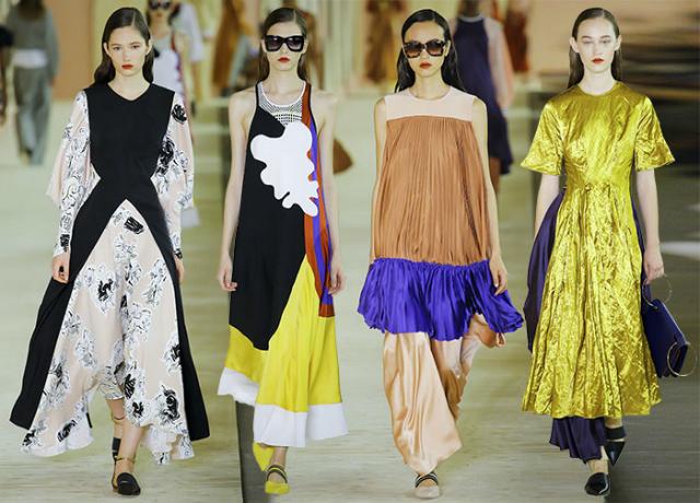 roksanda_spring_summer_2017_London Fashion Week_Trends london fashion week London Fashion Week: celebrating the trends for next seasons Roksanda spring summer 2017 collection London Fashion Week1