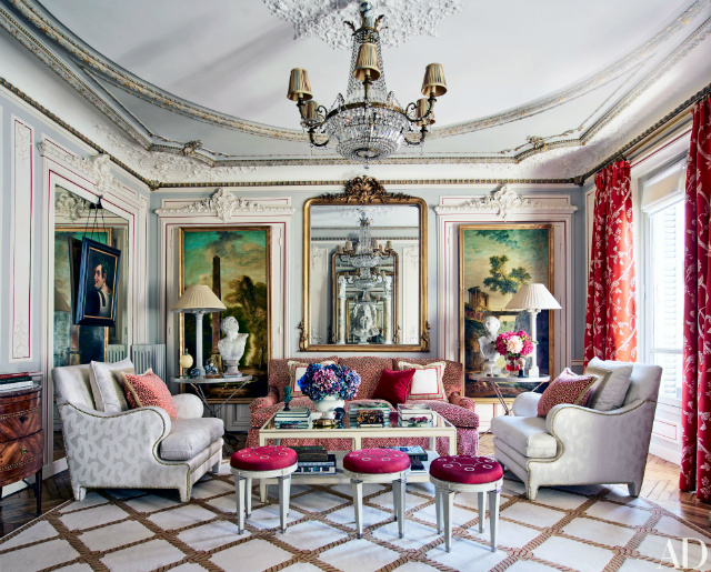 The Most Sophisticated Living Room Ideas In Architectural Digest_Timothy Corrigan Apartment living room ideas The Most Sophisticated Living Room Ideas In Architectural Digest The Most Sophisticated Living Room Ideas In Architectural Digest2