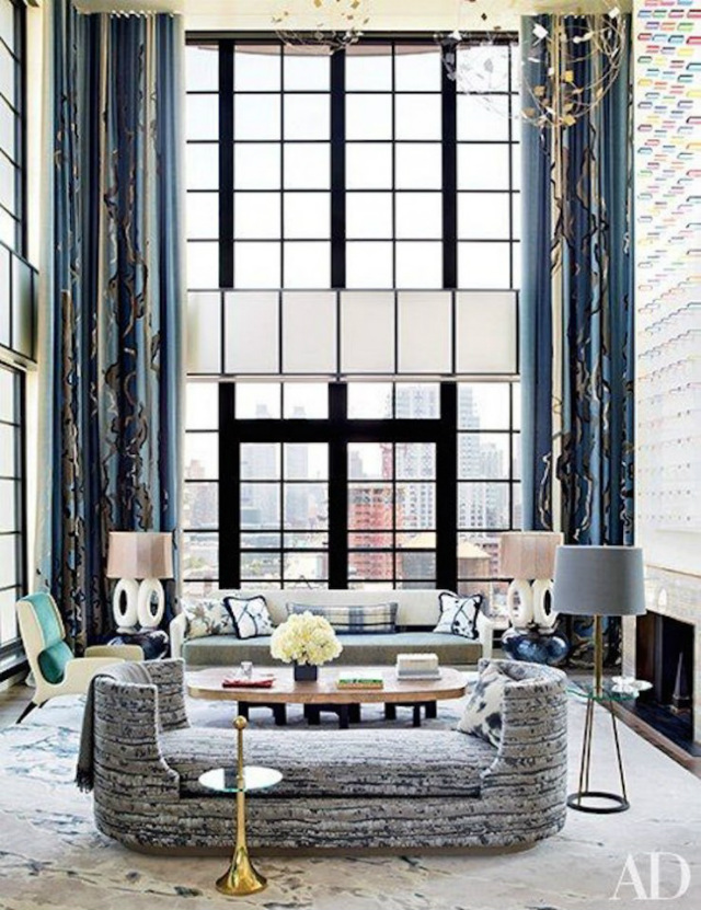 The Most Sophisticated Living Room Ideas In Architectural Digest_Art-Filled Aerie In New York City living room ideas The Most Sophisticated Living Room Ideas In Architectural Digest The Most Sophisticated Living Room Ideas In Architectural Digest3