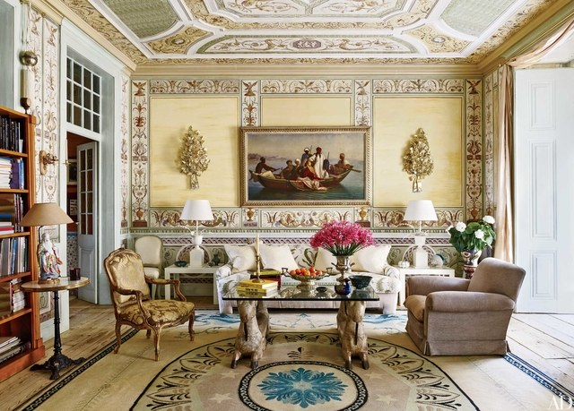 The Most Sophisticated Living Room Ideas In Architectural Digest_Pedro Espírito Santo's Romantic Home living room ideas The Most Sophisticated Living Room Ideas In Architectural Digest The Most Sophisticated Living Room Ideas In Architectural Digest4