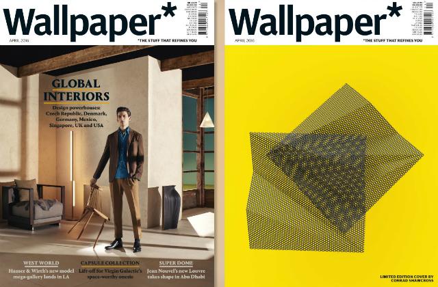 Wallpaper magazine_April 2016 wallpaper magazine The Most Iconic Editions of Wallpaper Magazine Wallpaper magazine April 2016