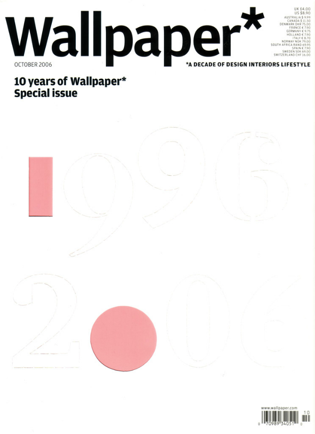 Wallpaper magazine_October 2006 wallpaper magazine The Most Iconic Editions of Wallpaper Magazine Wallpaper magazine October 2006