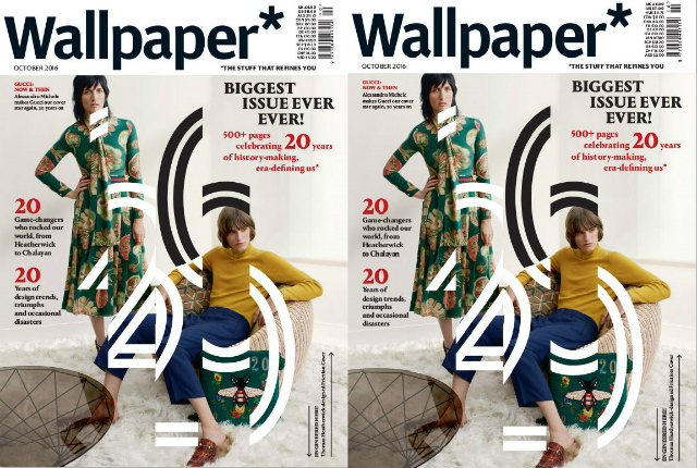 Wallpaper magazine_October 2016 wallpaper magazine The Most Iconic Editions of Wallpaper Magazine Wallpaper magazine October 2016