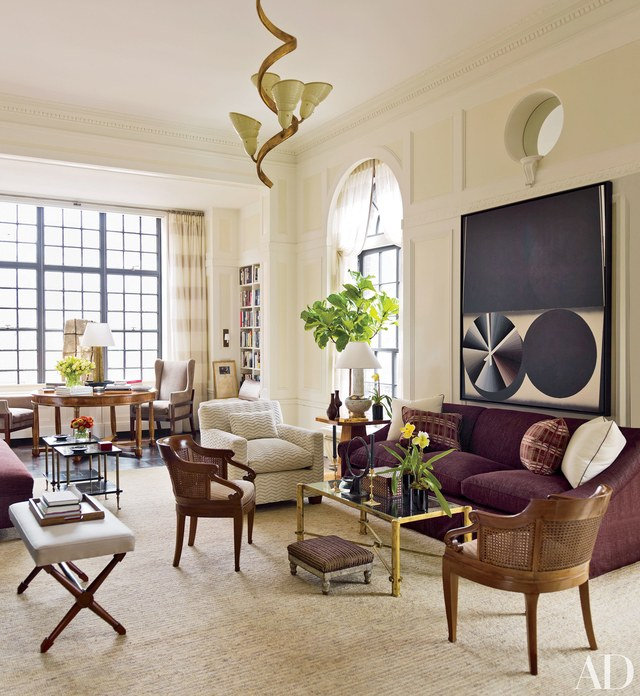 The most sophisticated living room ideas in Architectural Digest_David Kleinberg's Manhattan Apartment living room ideas The Most Sophisticated Living Room Ideas In Architectural Digest david kleinberg design associates ad100 05