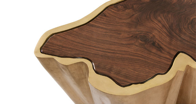 Meet The SEQUOIA Family, A Force Of Nature In Your Living Room Set living room set Meet The SEQUOIA Family, A Force Of Nature In Your Living Room Set sequoia tree shaped wood brass center table 5