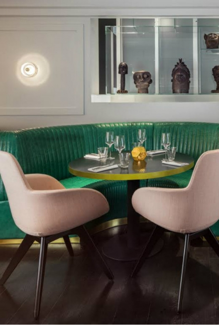 Get Inspired By The Sophisticated Bronte Restaurant Interior In London