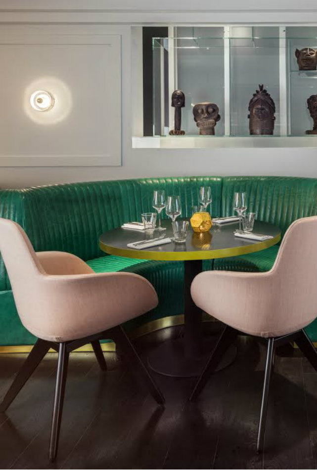restaurant interior Get Inspired By The Sophisticated Bronte Restaurant Interior In London Featured 3