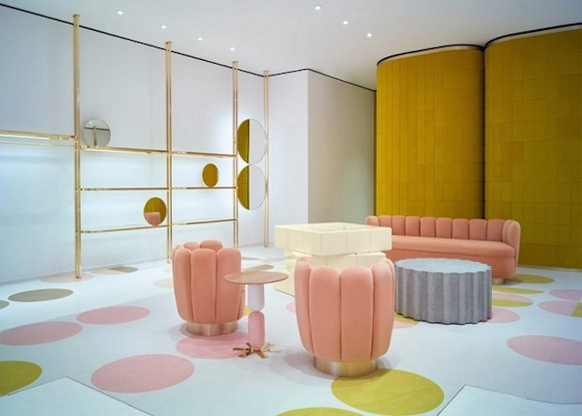 rv shop design Get Inspired By The Wonderful Red Valentino Shop Design In London RV