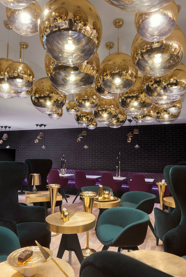 restaurant interior The Impressive Tom Dixon Sandwich Restaurant Interior In London featured 2